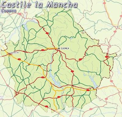 Cuenca Mapa Ciudad de la Región