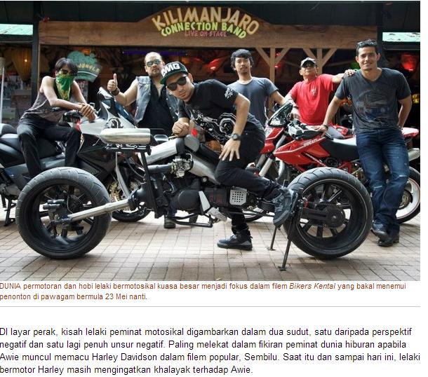 Bikers Kental Diedit dari Artikel KosMo Full