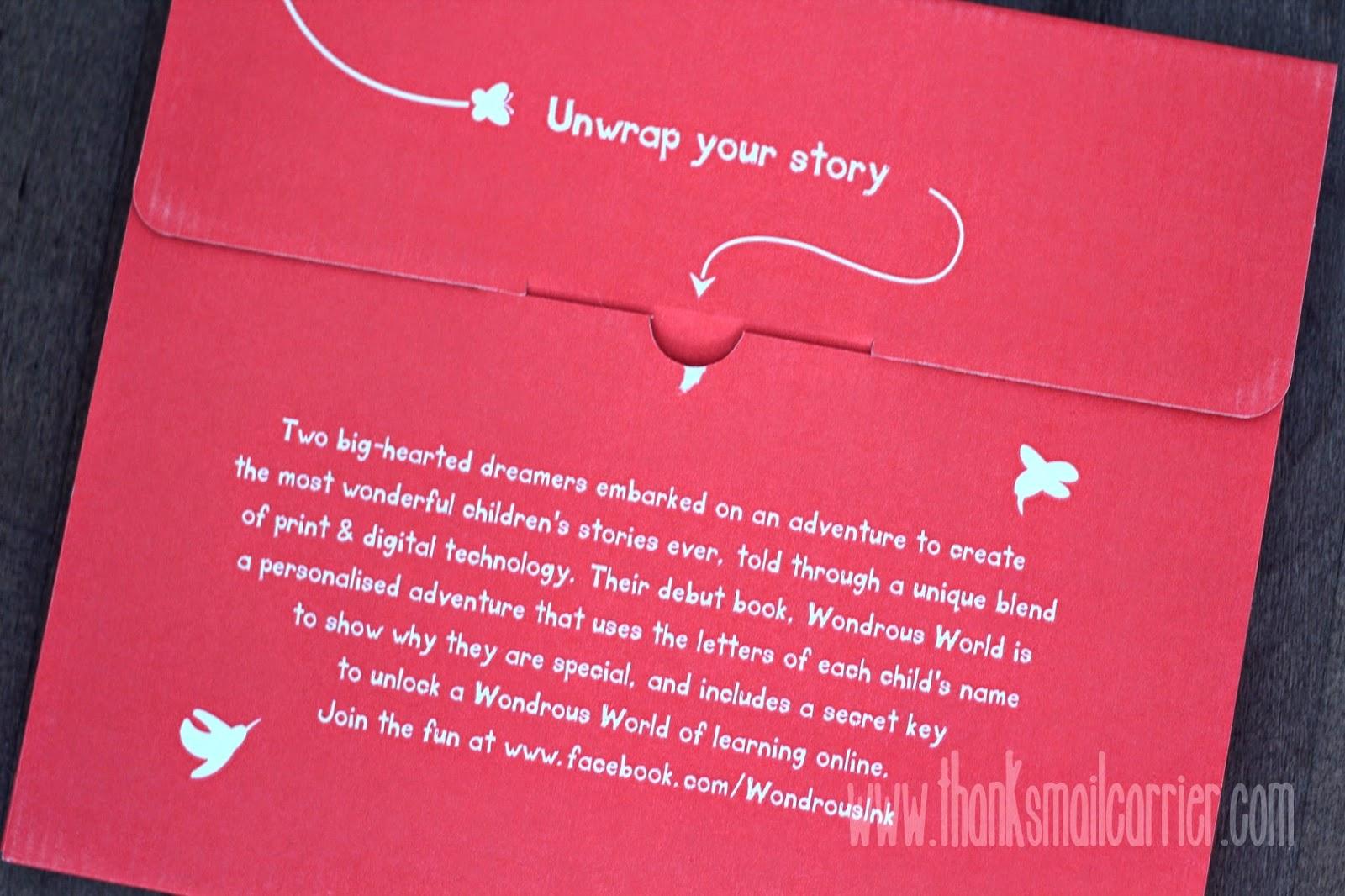 Wondrous Ink story