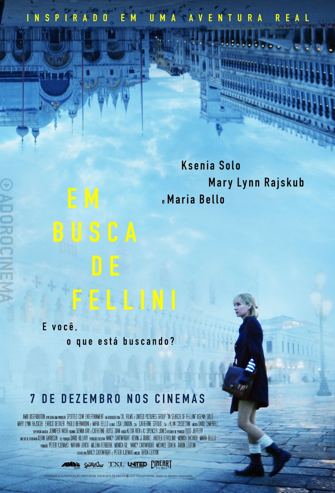 Em Busca de Fellini Legendado