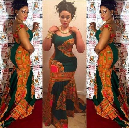 Ankara Gown Style For Ladies Dezango Fashion Zone