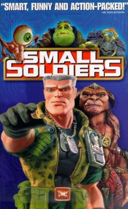 Soldier Movie Characters Movie Review Small Soldiers