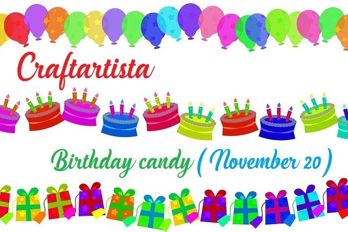 Craftartista blog birthday