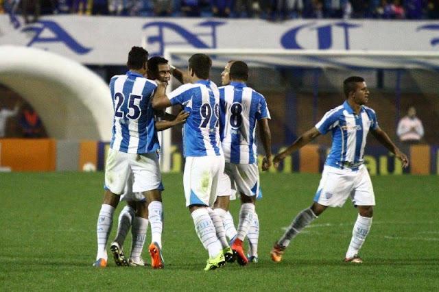 Avaí perdia até os 39 minutos do segundo tempo na Ressacada (Jamira Furlani/Avaí FC)