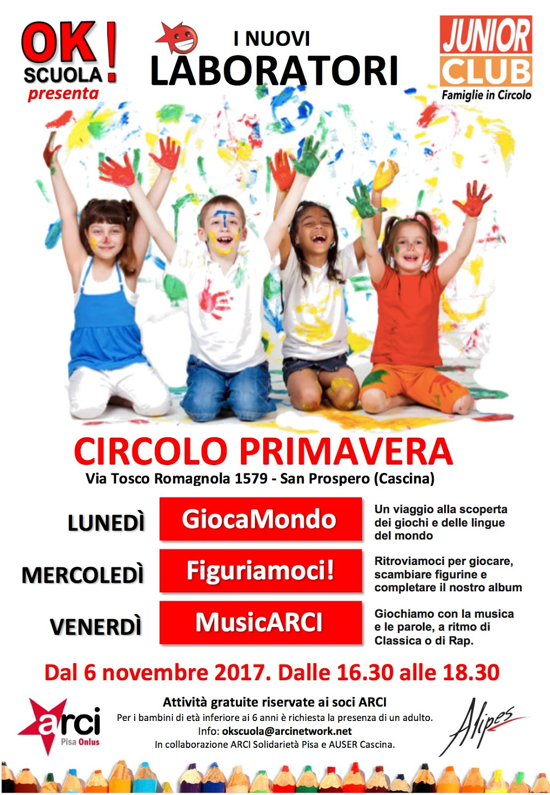 JUNIOR CLUB: LA LUDOTECA ARCI