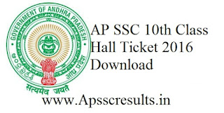 Ap ssc hall ticket download