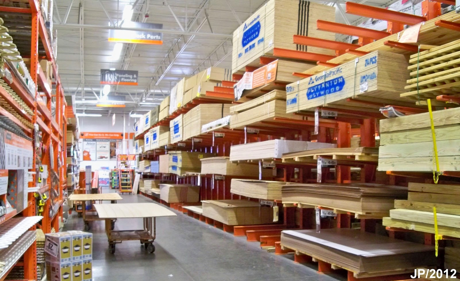 Home Depot Home Improvement Store Building Materials