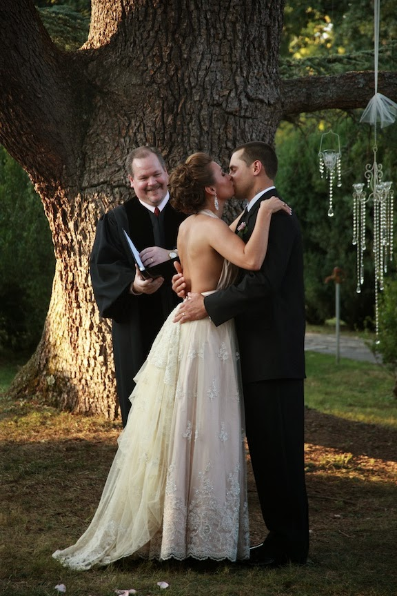 Rust Manor Wedding Ceremony Photo