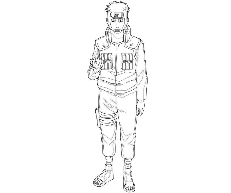 naruto-yamato-character-coloring-pages
