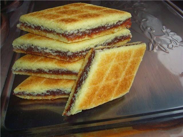 Печенье на сковороде рецепт с начинкой