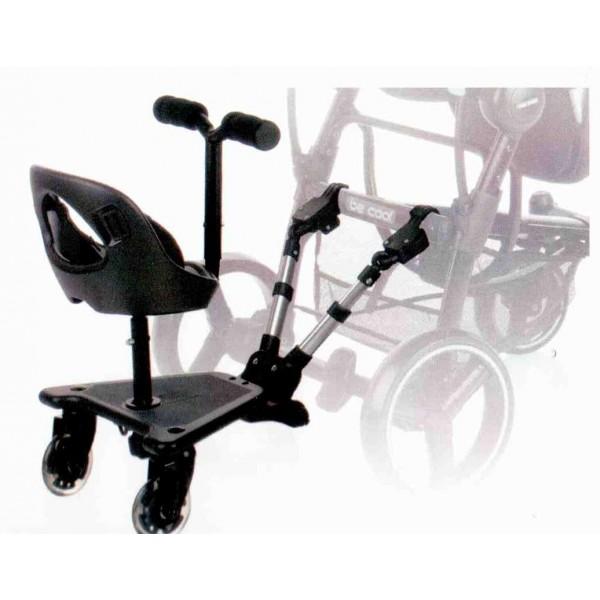 llevar a un bebé recién nacido y otro silla