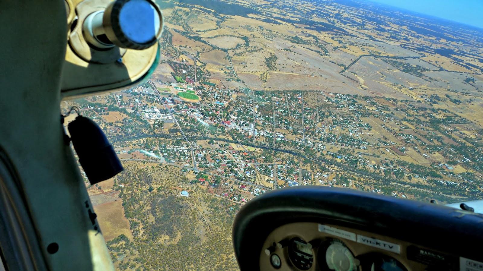 Birdseye view of York Australia