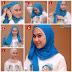 Tutorial Hijab Segi Empat Simple Buat Kuliah