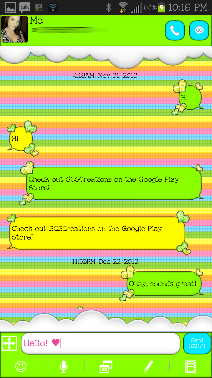 Google themes hearts - Go Sms Theme Lovinghearts3 Click Here To Go Directly To This Theme