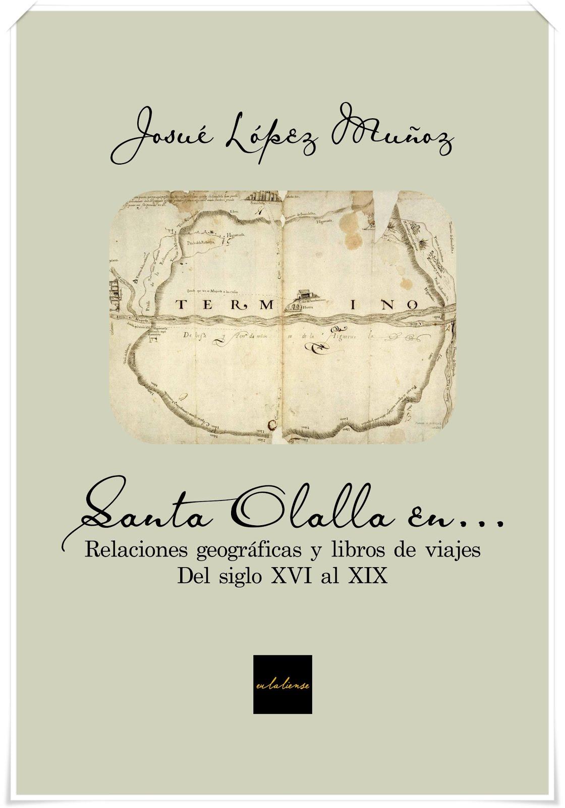 """Publicaciones: """"Santa Olalla en..."""""""