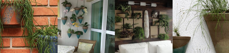 ~ Ideias Para Fazer Um Jardim Vertical