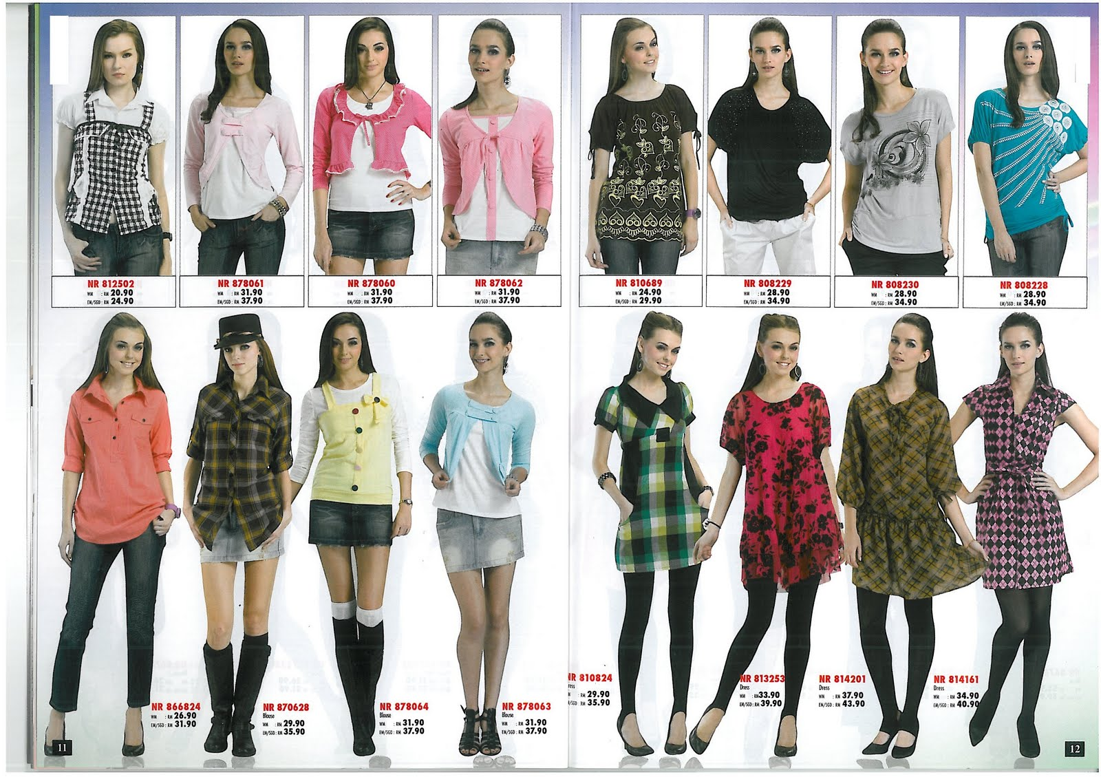 Women's clothing catalogs to keep up with the latest fashion trends with online women's and teens catalogs where you can find great clothes, shoes, swimwear and more.