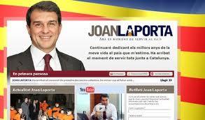 Página web de Laporta