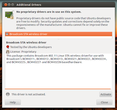 drivers for ubuntu