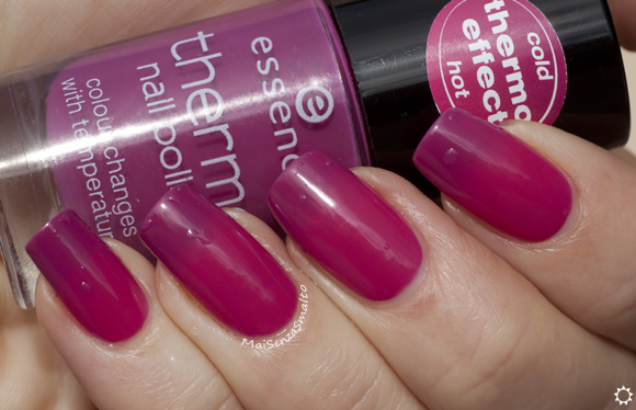 Essence Thermo Nail Polish 03 It's hot stuff