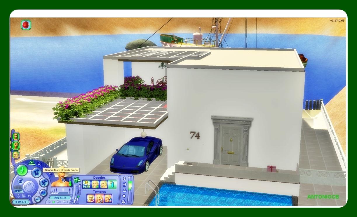 MIRAGEM Blue+roof+houseScreenShot007