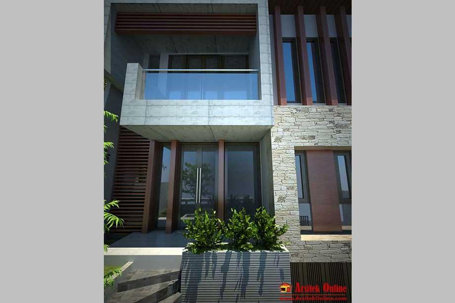 desain arsitek rumah murah