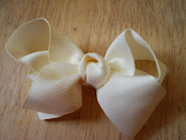 Cream Bow