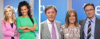 Ana Blanco, Marcos López y Jesús Álvarez relevan a Marta Haumandreu y Desiree Ndjambo