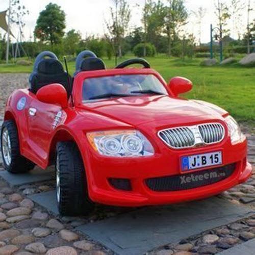 Ô tô điện trẻ em B15 -Xe BMW 2 động cơ