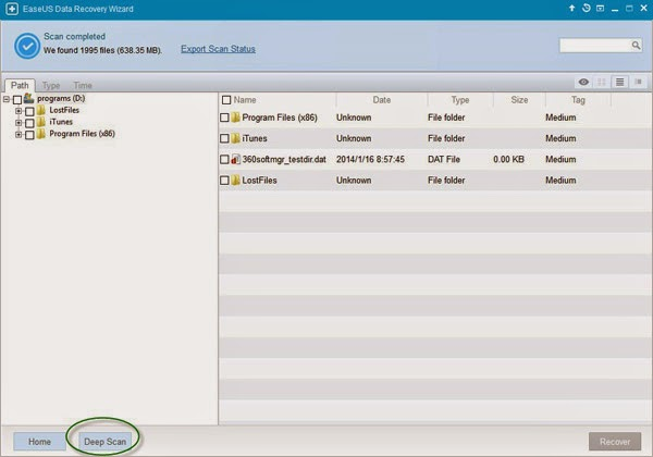 How to Use data Recovery Wizard to Recover Lost Data