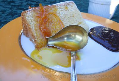 salsa per pandoro:Salsa Dolce all'Arancia, Salsa al Cioccolato