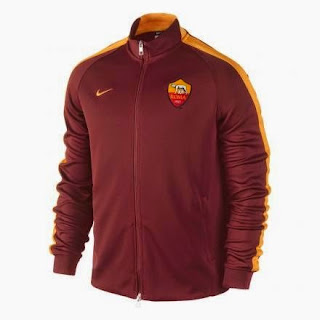 gambar jaket as roma terbaru musim depan 2015/2016