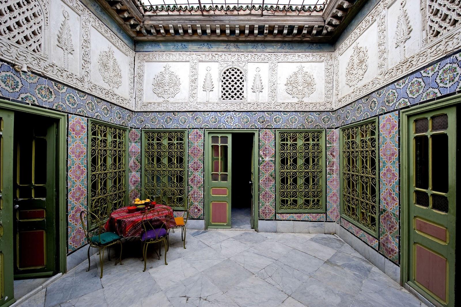 Dar bibine: la chambre bleue tunis