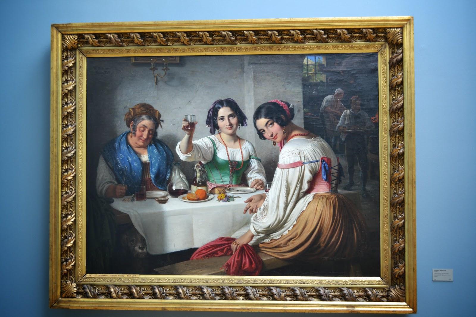 Paintings at  Ny Carlsberg Glyptotek