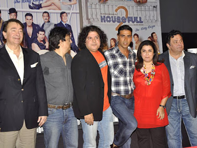 Celebrities at  'Housefull 2' First look launch Images,Photo gallery