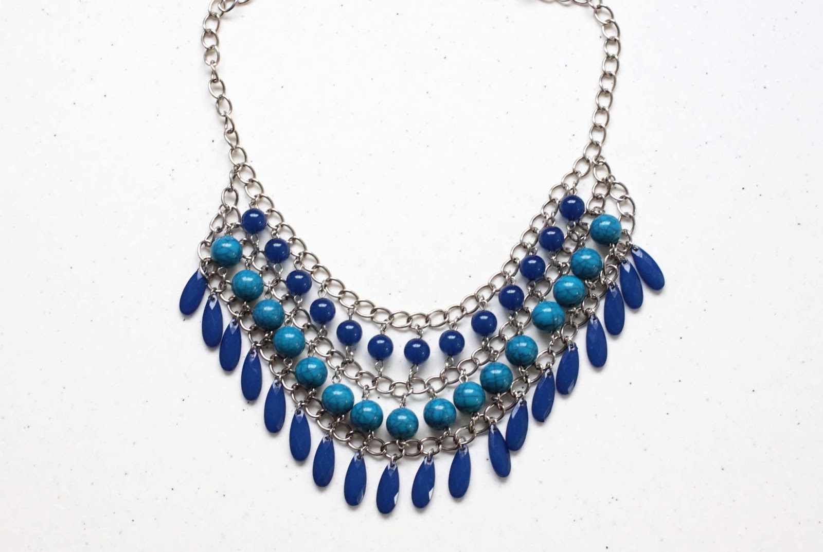 designs waterfall nui blue cobalt necklace products