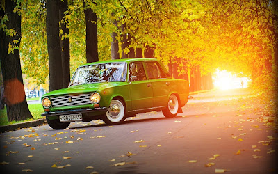 Lada Vaz 2101 Vintage Car Sunlights HD Wallpaper