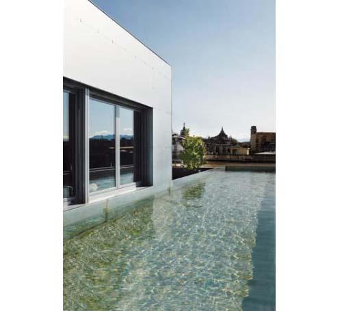 Una piscina sul tetto vista Mole: Blog Arredamento Interior Design ...