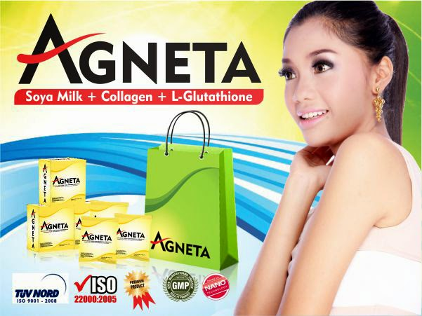 Agneta Soy Milk + L-Glutathione + Collagen