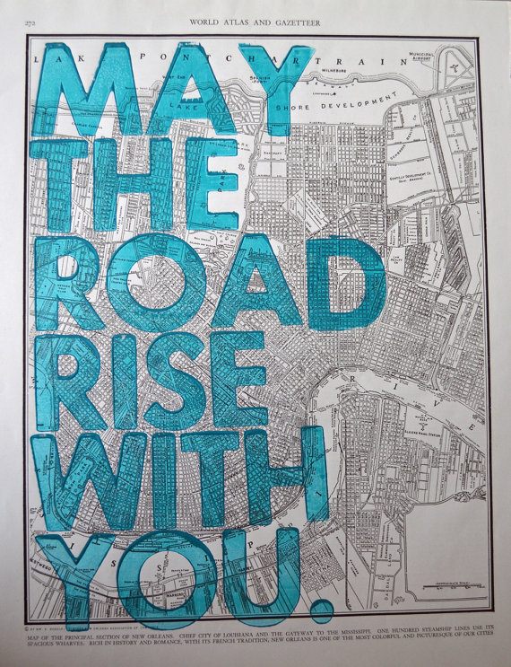 may the road rise to meet you rice