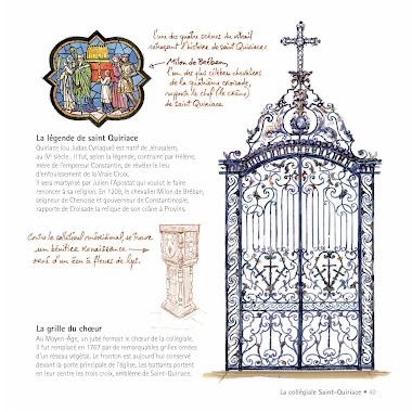 Grille du chœur de Saint-Quiriace