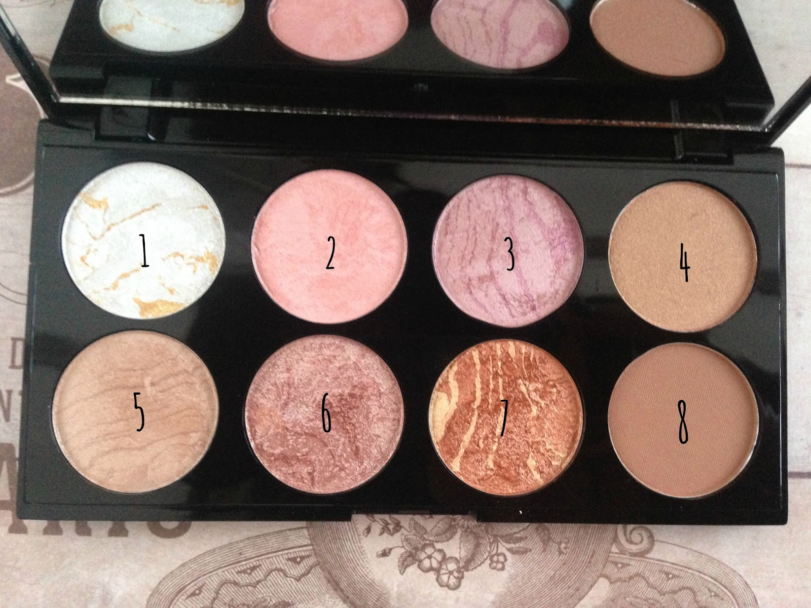 Review swatches makeup revolution ultra blush palette in golden sugar