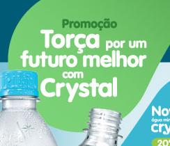 """PROMOÇÃO """"TORÇA POR UM FUTURO MELHOR COM CRYSTAL"""""""