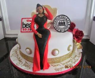 Toolz birthday cake from Iyanya