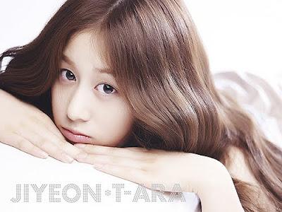 Jiyeon T-Ara Artis Girlband Tercantik 1