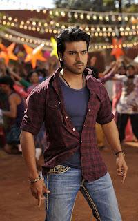 Ram Charan in racha song
