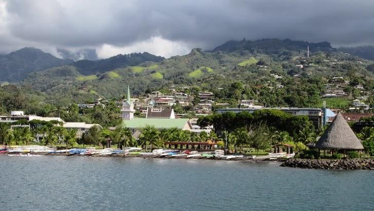 Jardins de Paofai à Papeete