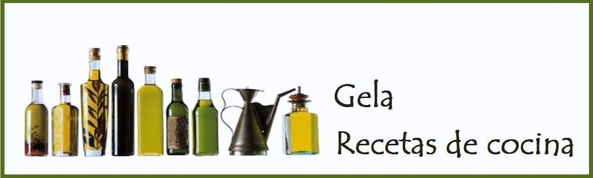 Gela: Recetas de cocina