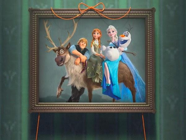 Imagen de la película Frozen Fever el nuevo cortometraje de Disney.