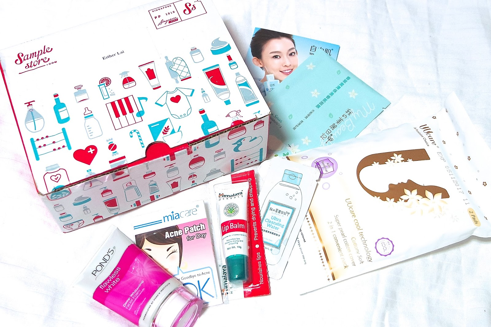Sample Store SG50 Giveaway!! | Esther Rachel